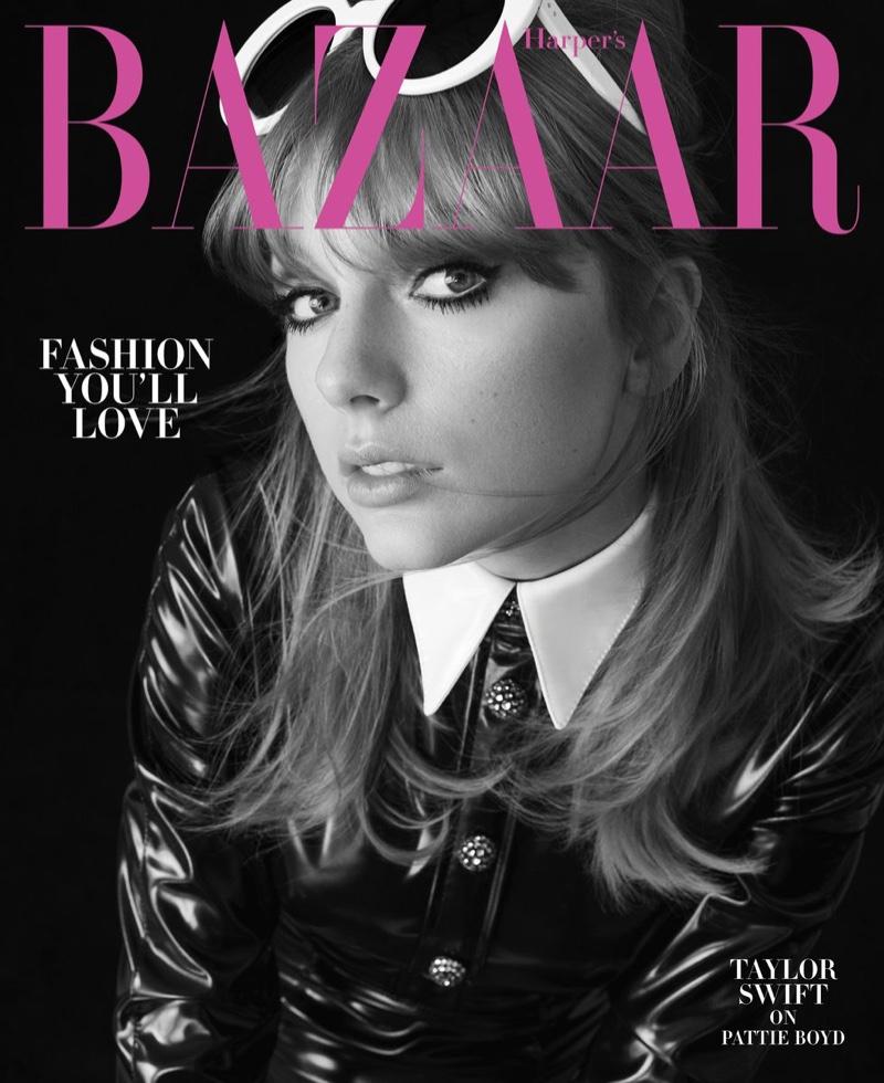Singer Taylor Swift on Harper's Bazaar US August 2018 Cover