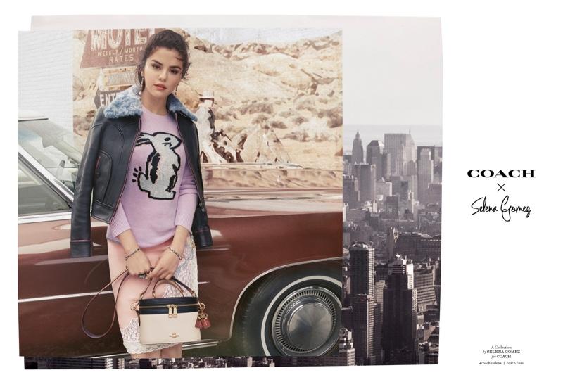 Singer Selena Gomez fronts Coach x Selena Gomez fall-winter 2018 campaign