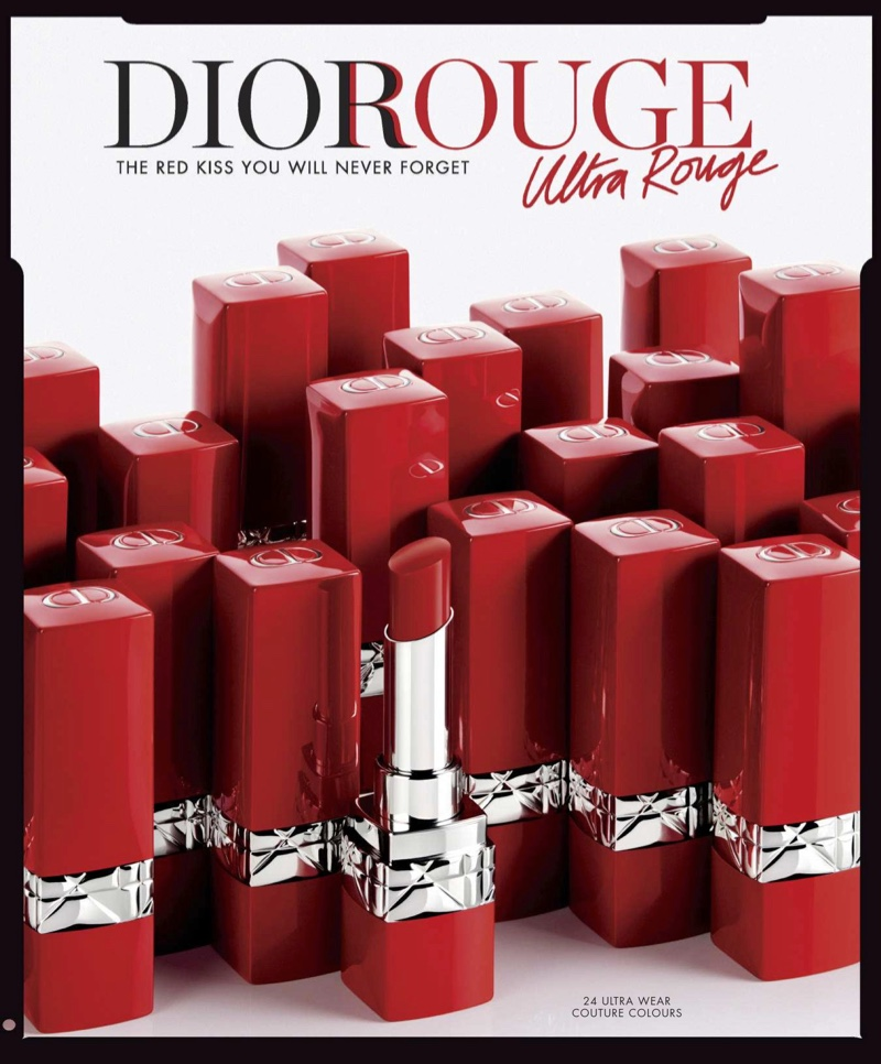 Rouge Dior Ultra Rouge Pigmented Hydra Lipstick $37.00