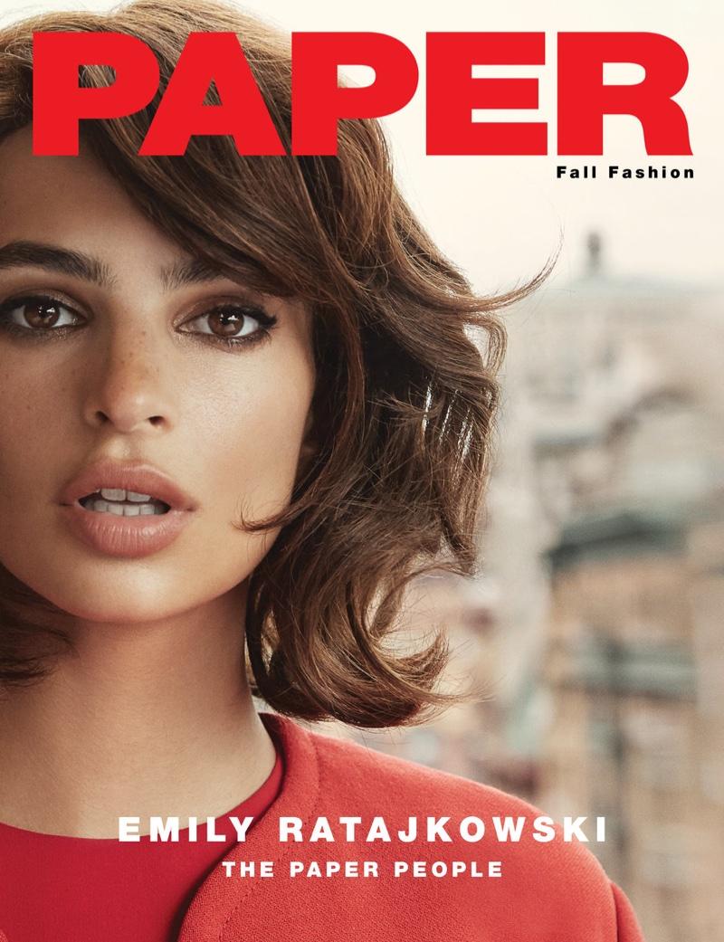 emily ratajkowski paper magazine