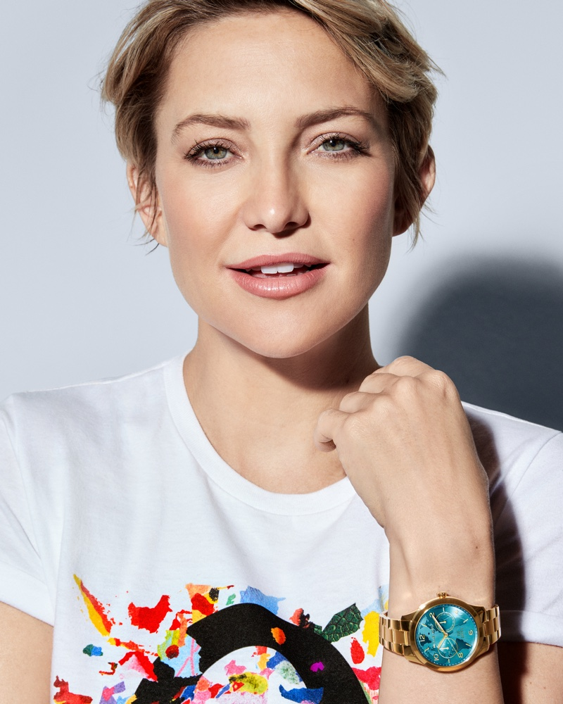 Kate Hudson stars in Michael Kors Watch Hunger Stop campaign