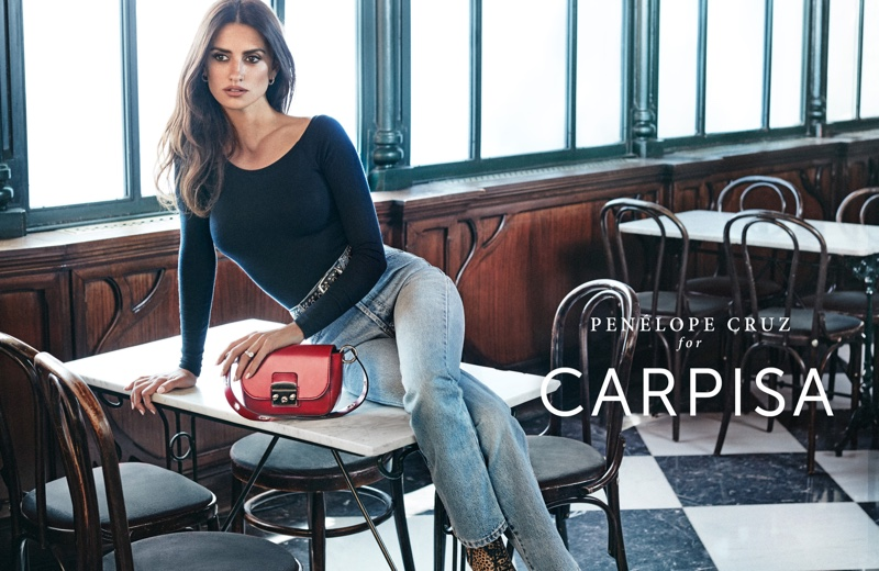 Penelope Cruz stars in Carpisa fall-winter 2018 campaign