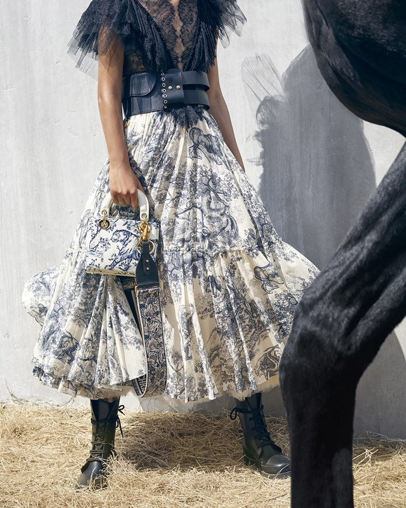 Photo from Dior cruise 2019 campaign