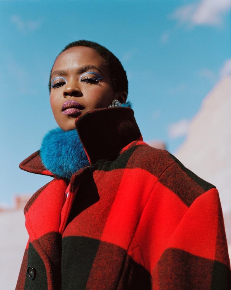 Singer Lauryn Hill appears in Woolrich fall-winter 2018 campaign