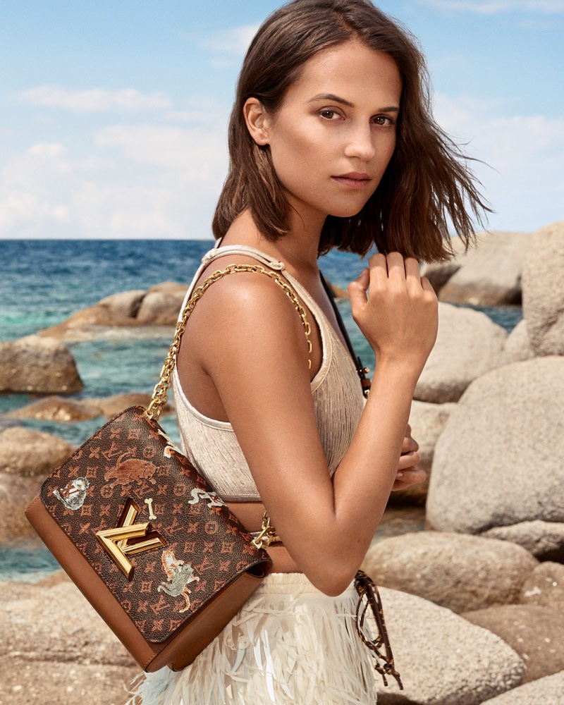 Alicia Vikander fronts Louis Vuitton cruise 2019 campaign