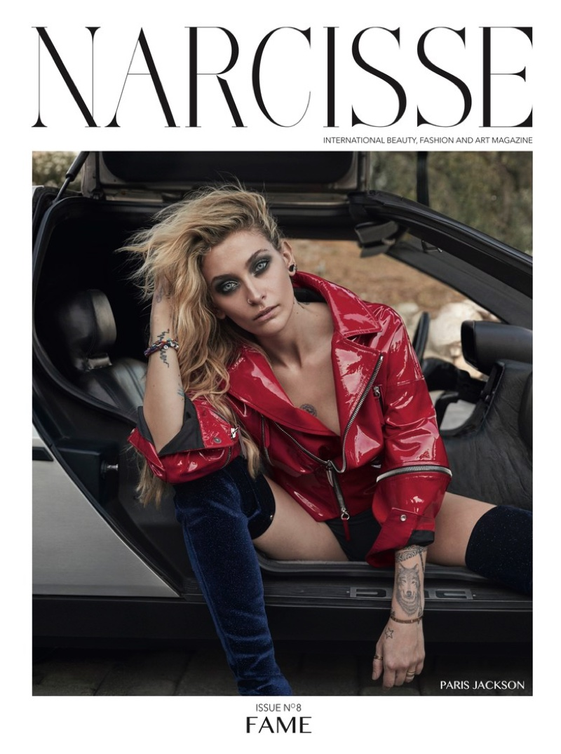 Paris Jackson on Narcisse Magazine Issue #8 Cover