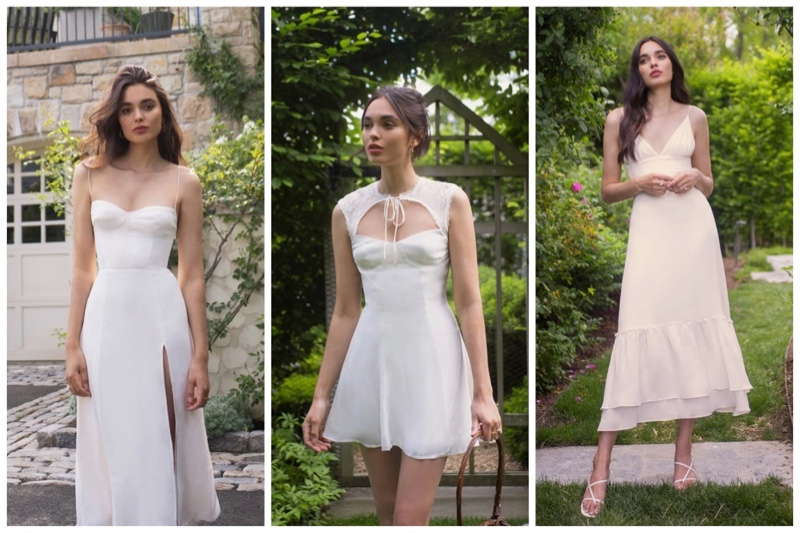 Reformation wedding bridal summer dresses