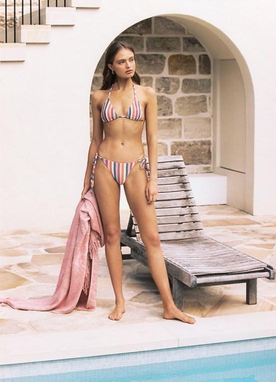 Peony Swimwear unveils resort 2020 collection modeled by Anna Mila Guyenz