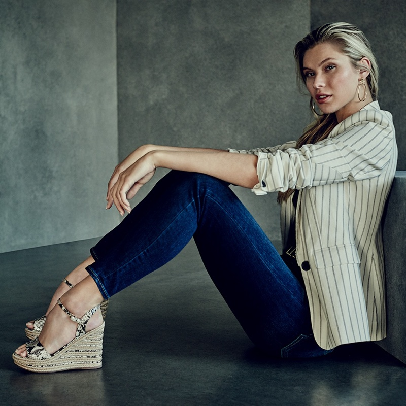Josie Canseco Charms for Vince Camuto Spring 2020 Campaign