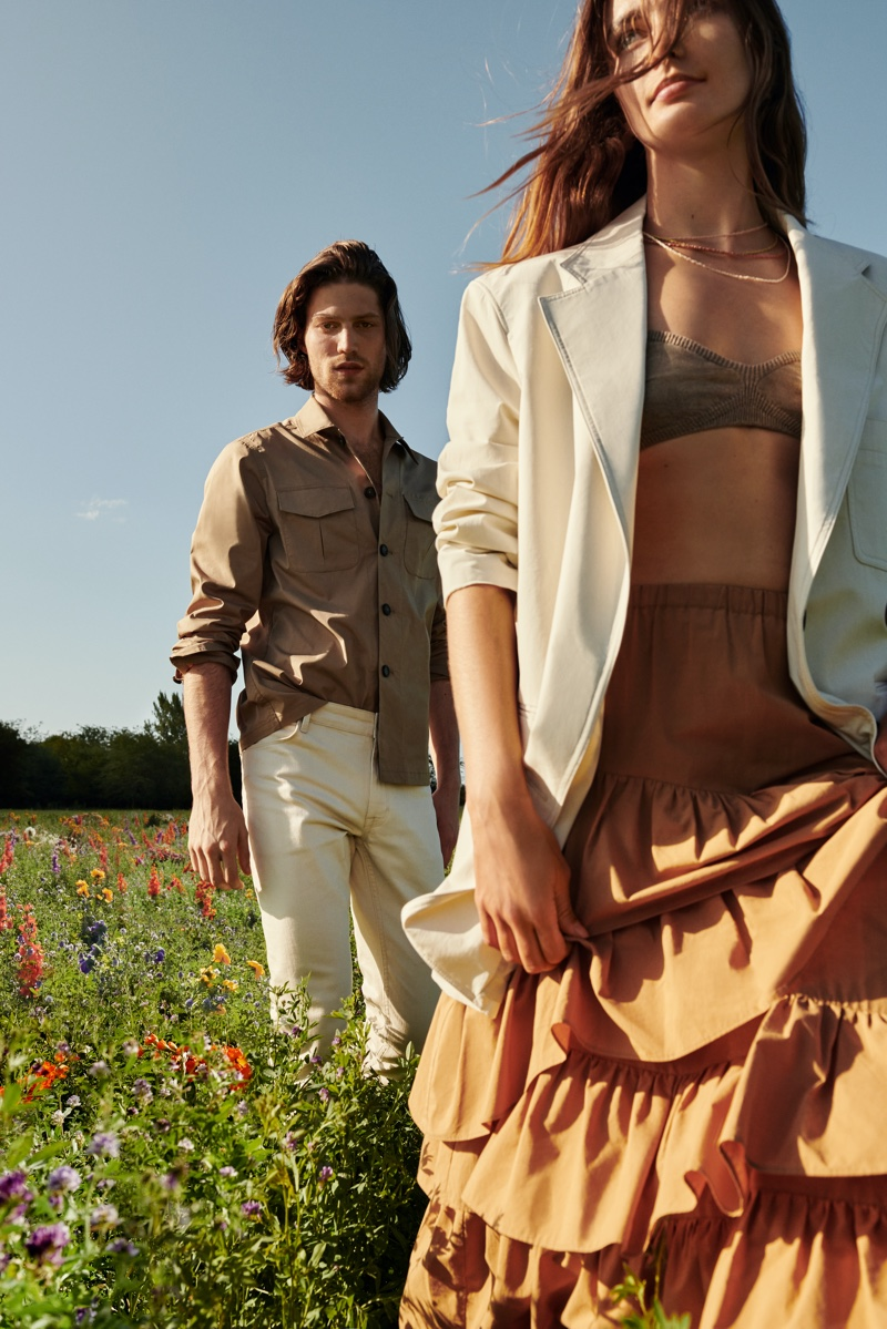 Andreea, Oumie & Kaya Chase the Sun in Mango 'Life in Bloom' Campaign