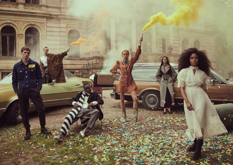 Brendaly, Eugenie, Ulrikke Take the Streets in Stylebop Campaign