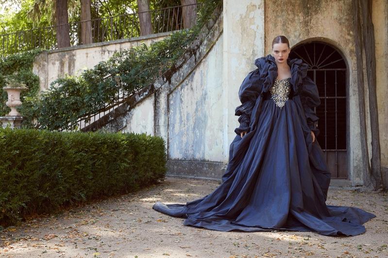 Viola Koves Poses in Regal Dresses for ELLE Arabia