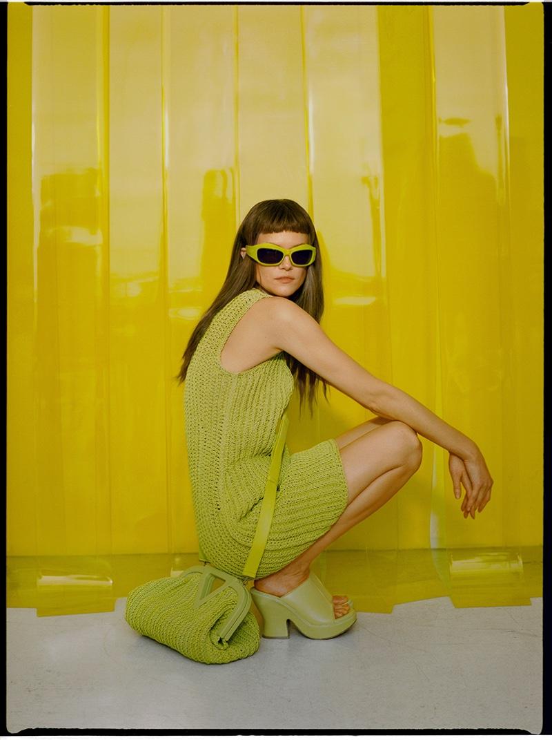 Kasia Struss Wears On-Trend Looks for Vogue Poland