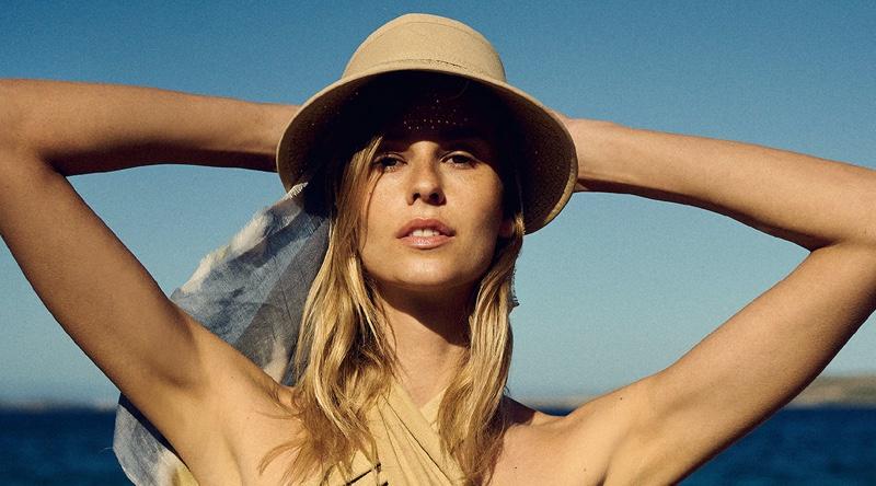 Mariina Keskitalo Shows Off Summer Swimwear for ELLE Greece