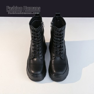 boots waterproof leath martin ankle boots