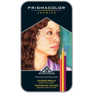 Fashion Design Art Supplies, Prismacolor colored pencils