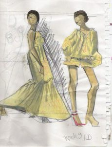 remember that this evening wear module is a part of my complete program that takes you from beginner model drawing to designing swimwear summer collection - Fashion Design Ideas