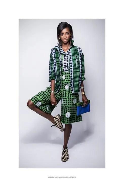 """Handmade Batik Print """"Aggie """" outfit by StudioOneEightyNine, Studio189  made in Ghana"""