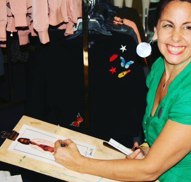 Laura Volpintesta, Fashion Illustrator and Course Creator, Teacher at Fashion Illustration Tribe, Parsons School of Design, and Craftsy.com