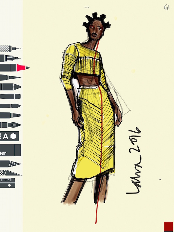 e2d986146 These are the 3 best apps for fashion illustration on iPad or ...
