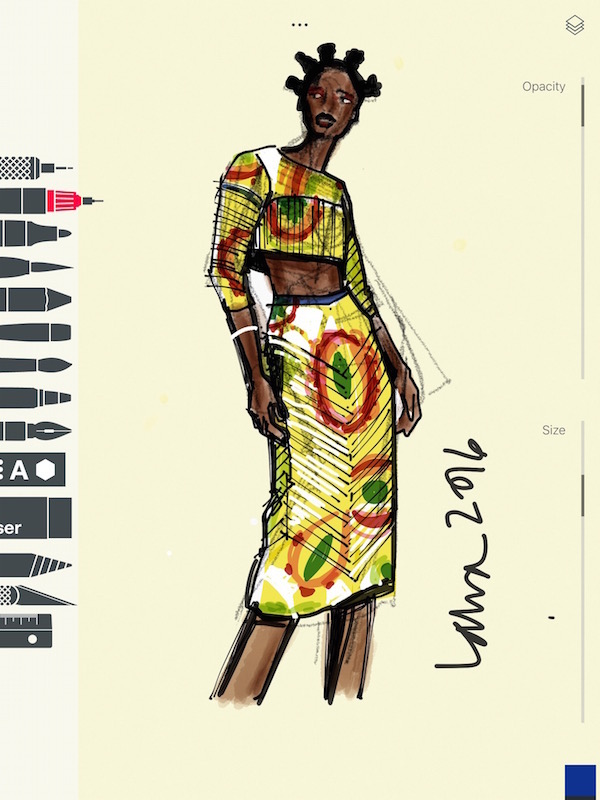 apps for fashion illustration