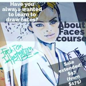 Fashion Illustrator Laura Volpintesta. Freedom Fashion online course intensive!