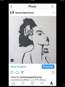 Social Media coloring in Instagram Stories: app by Laura Volpintesta