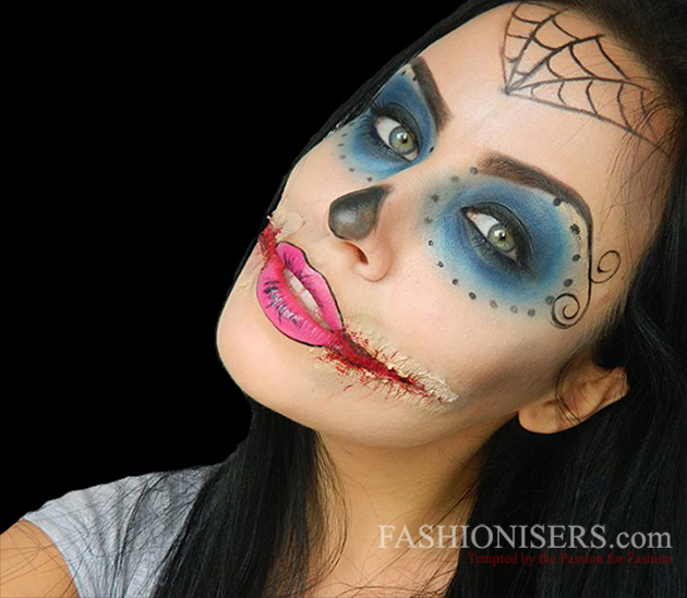 Monster High Makeup Tutorial for Halloween