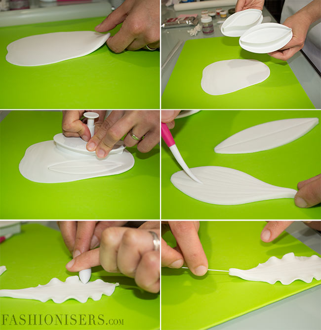 How to Make Lily Flowers from Modelling Paste