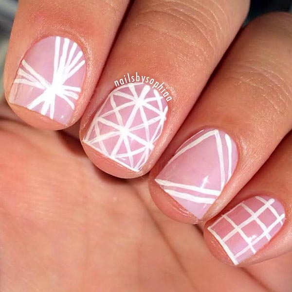 How To Do French Manicure On Short Nails Gallery Cool Nail Design Ideas