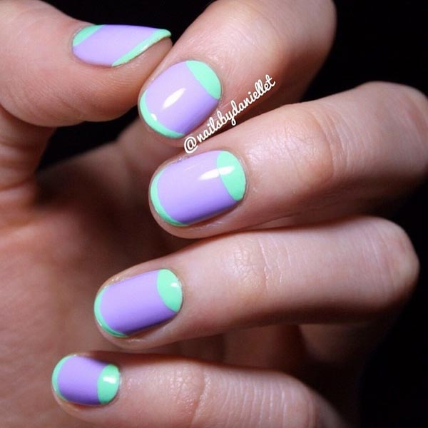 Simple Winter Nail Art Ideas For Short Nails 89