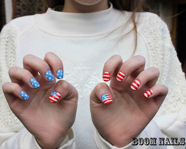 Parisian Nail Designs For Short Nails