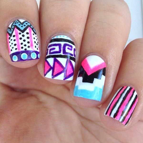 Prev Next Easy Beginner Nail Art Designs For Short Nails