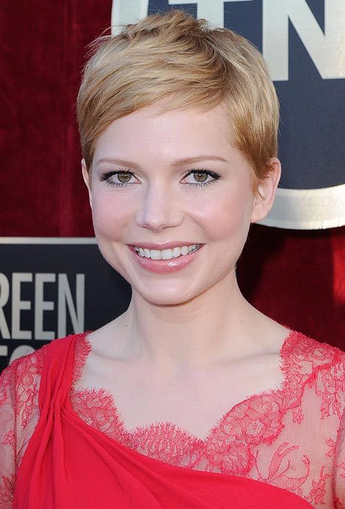 Timeless Hairstyles for Women That Will Never Get Out of Style: Michelle Williams