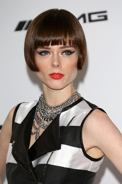20 Short Hairstyles Celebs Love to Wear: Coco Rocha