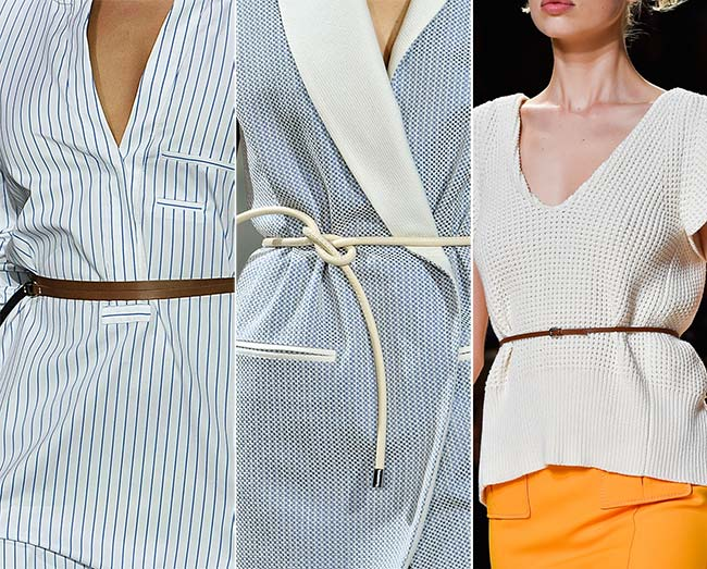 Spring/ Summer 2015 Accessory Trends: Tiny Belts