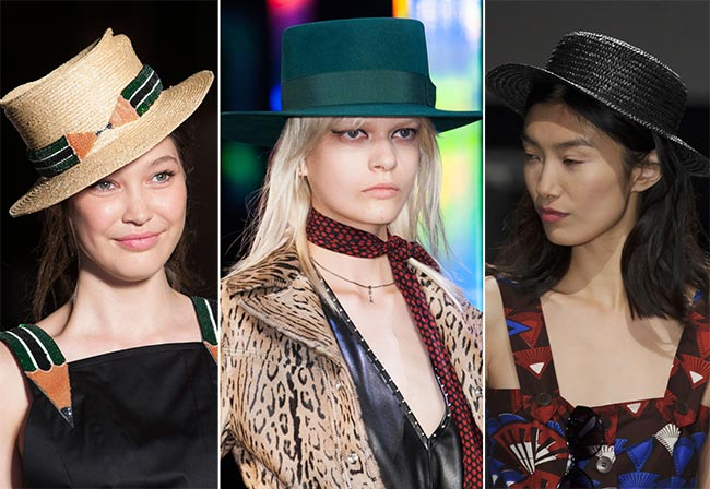 Spring/ Summer 2015 Headwear Trends: Boater Hats
