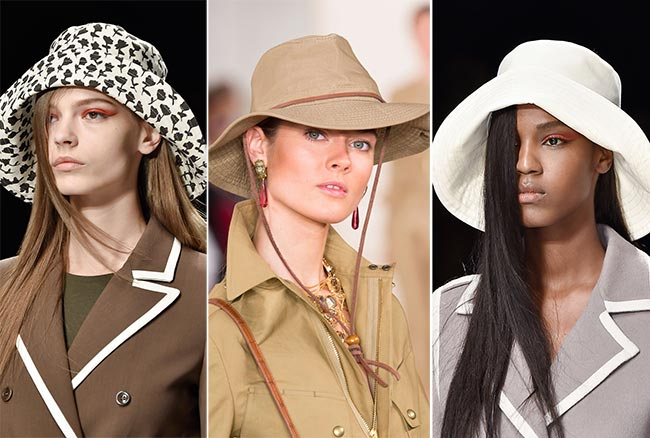 Spring/ Summer 2015 Headwear Trends: Safari and Droopy Rain Hats