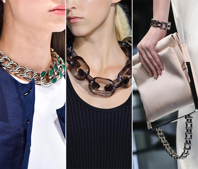 Spring/ Summer 2015 Jewelry Trends: Chains