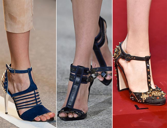 Spring/ Summer 2015 Shoe Trends: T-Strap Shoes