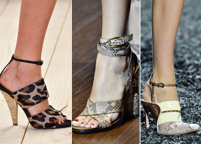 Spring/ Summer 2015 Shoe Trends: Reptile Skin Shoes