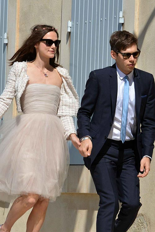 10 of the Most Unique Celebrity Wedding Dresses: Keira Knightley