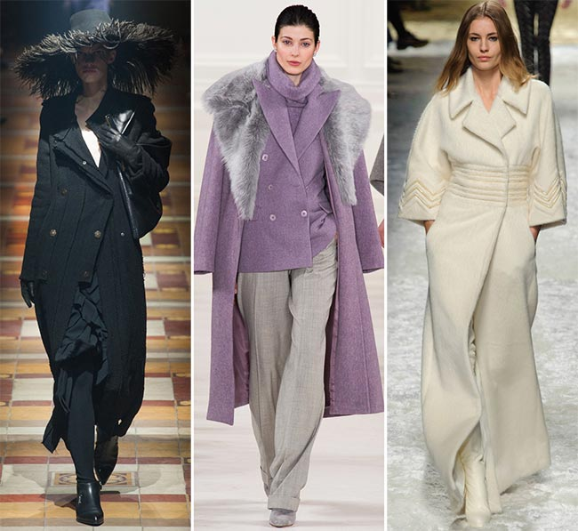 Winter 2014-2015 Trendy Long Coats