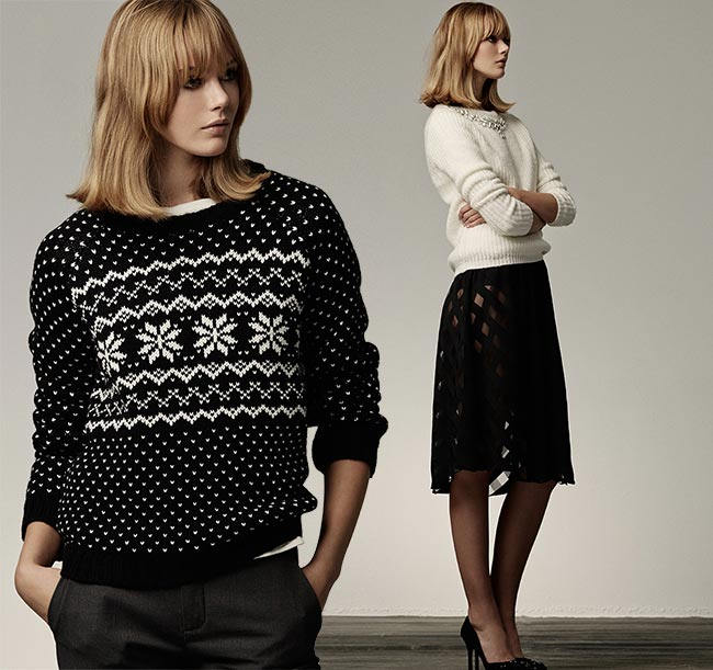 Frida Gustavsson for SuiteBlanco Holiday 2014 Collection
