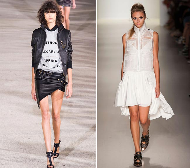 How to Wear Asymmetrical Dresses in 2015
