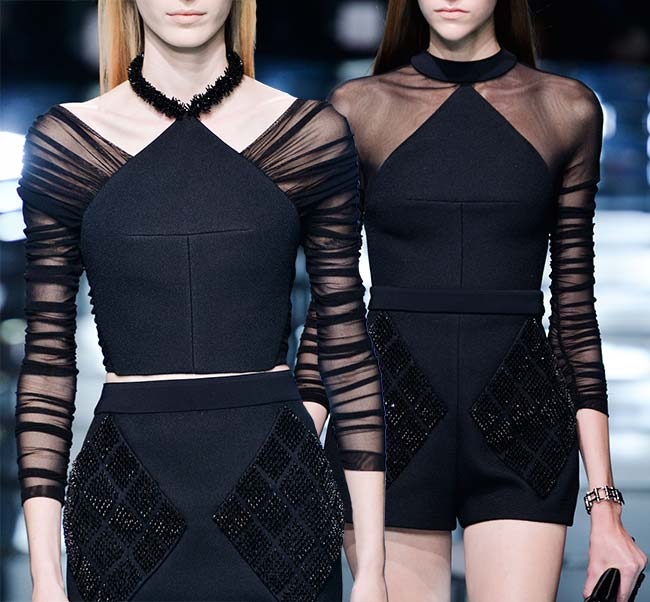 Spring 2015 Runway Inspired Holiday Party Outfit Ideas: Balenciaga