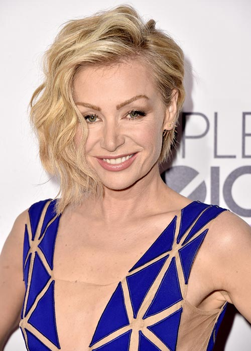People's Choice Awards 2015 Hairstyles: Portia de Rossi Short Hair