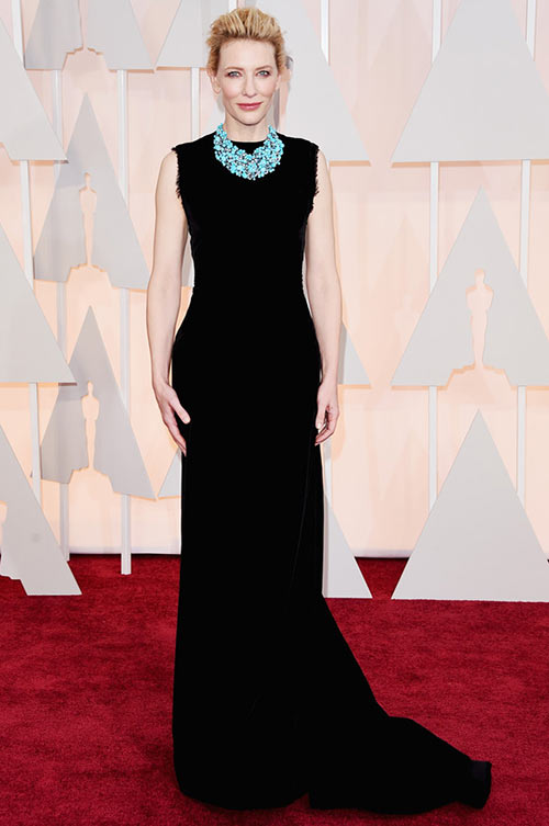 2015 Oscars Red Carpet Fashion: Cate Blanchett