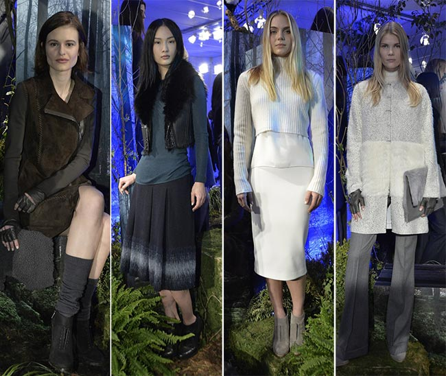 Elie Tahari Fall/Winter 2015-2016 Collection - New York Fashion Week