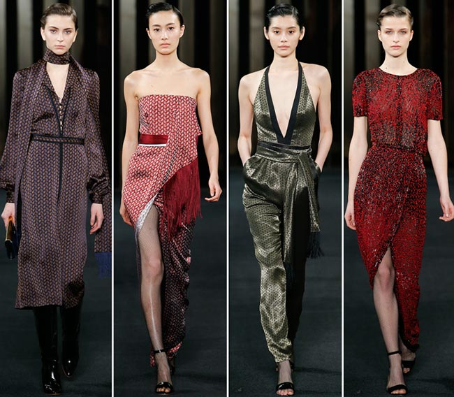 J. Mendel Fall/Winter 2015-2016 Collection - New York Fashion Week